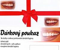 Dárkový pukaz na bělení zubů Petra Korbová